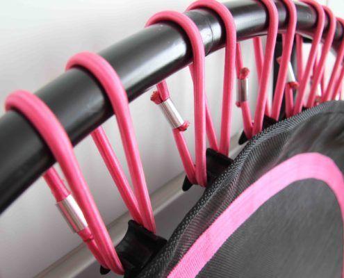 Roze Rebounder - fitnesstrampoline