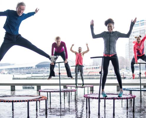 Flexbounce trampoline oefeningen