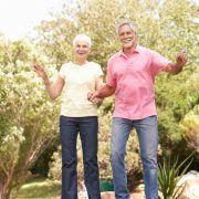 trampolinespringen tegen botontkalking