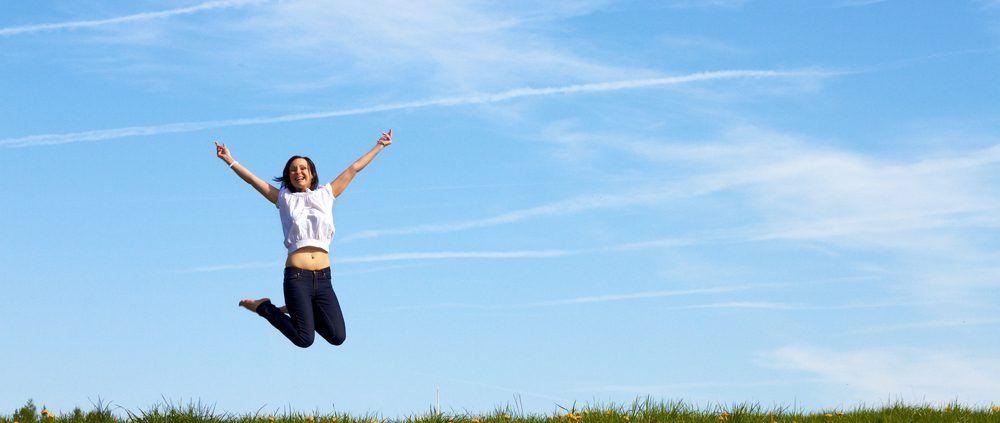 springen en in vorm