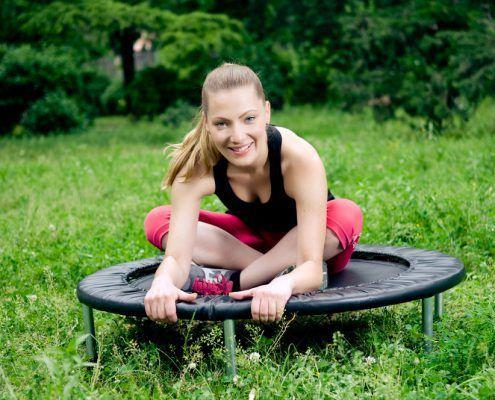 trampoline oefeningen