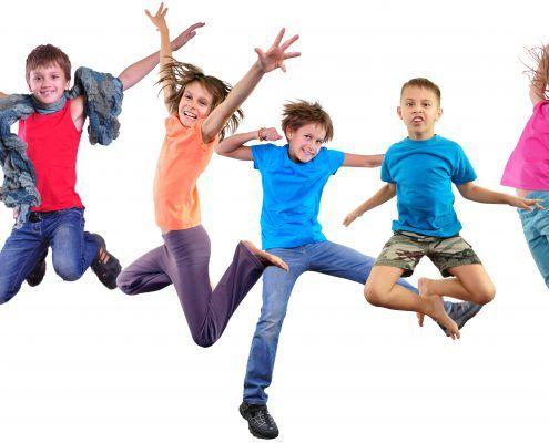 trampolinespringen bij ADHD