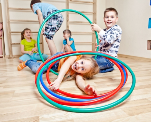 kinderen bewegen