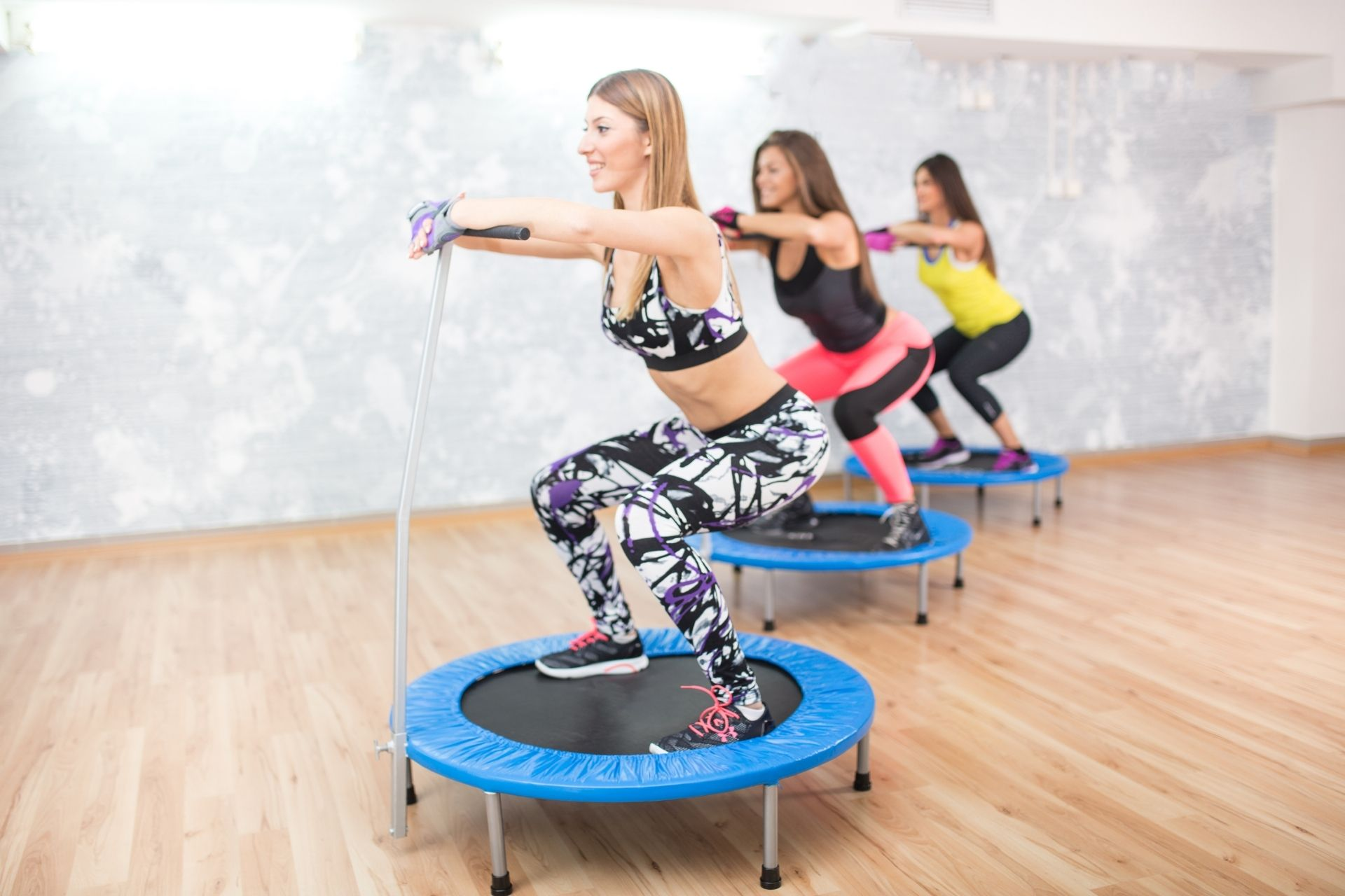 trampoline workout billen